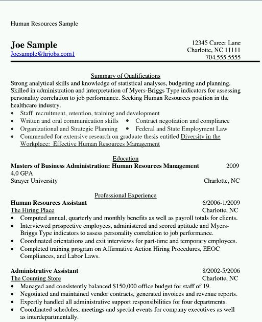here i am uploading a file from where you can download the mba human resources resume format