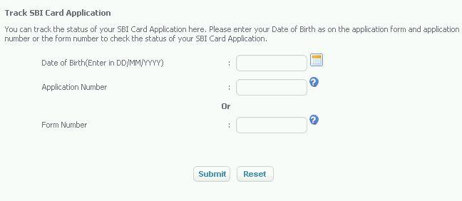 sbi irctc card application tracking