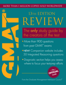 The Official Guide for GMAT Review (13th Ed)