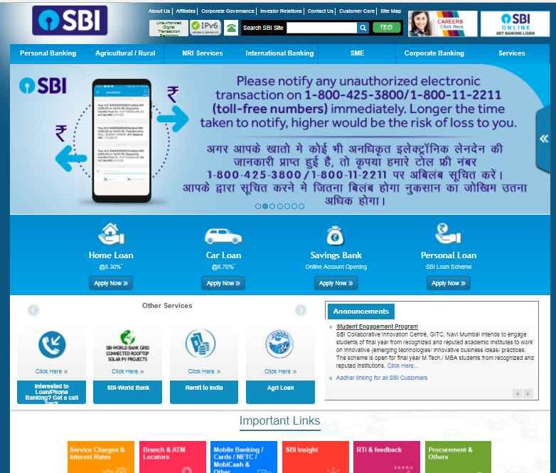 state bank of india jp nagar branch